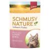 Schmusy Nature Vollwert-Flakes Macska Alutasakos Pulyka+Rizs 100g