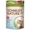 Schmusy Schmusy Nature Macska Kitten Alutasakos Lazac+Bárány 100g