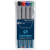 """SCHNEIDER Alkoholmentes marker készlet, OHP, 0,4 mm, SCHNEIDER """"Maxx 221 S"""", 4 különböző szín"""