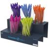 "SCHNEIDER Golyóstoll display, 0,5 mm, nyomógombos,  ""Like"", vegyes színek"
