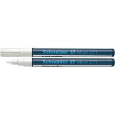 """SCHNEIDER Lakkmarker, 1-2 mm, SCHNEIDER """"Maxx 271"""", fehér filctoll, marker"""