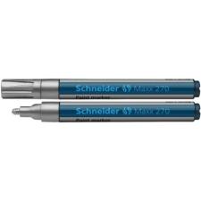"""SCHNEIDER Lakkmarker, 1-3 mm, SCHNEIDER """"Maxx 270"""", ezüst filctoll, marker"""