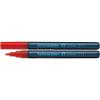 """SCHNEIDER """"Maxx 271"""" 1-2 mm piros Lakkmarker"""