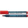 """SCHNEIDER """"Maxx 290"""" 2-3 mm kúpos piros tábla- és flipchart marker"""