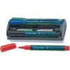 """SCHNEIDER Tábla- és flipchart marker készlet, 1-3 mm, szivaccsal, SCHNEIDER """"Maxx Eco 110\"""", 4 különböző szín"""