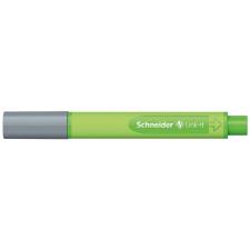 """SCHNEIDER Tűfilc, 0,4 mm,  """"Link-it"""", összeilleszthető, ezüstszürke filctoll, marker"""