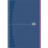 """SCHOOLBOY Spirálfüzet, A5, kockás, 80 lap, SCHOOLBOY """"Notebook"""", vegyes"""