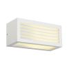 Schrack Technik LI232491  BOX-L E27 fali lámpatest, négyzetes, fehér, E27, max. 18W
