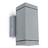 Schrack Technik Schrack Tehnik LID11631  Cube-WL1, GU10 QPAR 16, 2x35W IP54, szürke