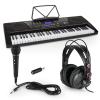 Schubert Etude 225 USB, gyakorló elektromos zongora, fülhallgatóval és mikrofonnal
