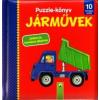 Schwager & Steinlein Verlag Puzzle-könyv: Járművek