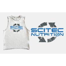 Scitec Nutrition SCITEC SLEEVELESS T-SHIRT fehér