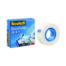 Scotch Ragasztószalag 3M Scotch Magic 811 írható eltávolítható 19mmx33m átlátszó ragasztószalag