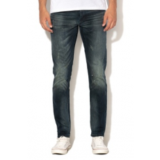 Scotch & Soda , Phaidon slim fit farmernadrág, Sötétkék, W33-L32 (144824-2214-W33-L32)