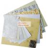 Scrapbook papír készlet, kézzel készített díszes papírok, színes papír szett - Különböző színekben