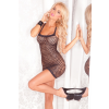 Seamless lurex shimmer dress