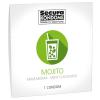 Secura Mojito - mentolos óvszer (1db)