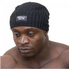 SEERSUCKER WORK OUT CAP (BLACK) [Egy Méret]