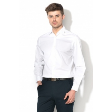 Selected Homme , Donepen-Carter mintás ing, Fehér, L (16059203-BRIGHT-WHITE-L)