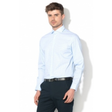 Selected Homme , DONESEL-ASHER grafikai mintás slim fit ing, Világoskék, XXL (16060752-LIGHT-BLUE-XXL)