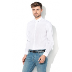 Selected Homme , John slim fit ing, Fehér/Szürke, L (16064524-BRIGHT-WHITE-L)