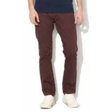 Selected Homme , Paris chino nadrág, lila, W32-L32 (16057025-DECADENT-CHOCOLATE-W32-L32)