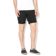 Selected Homme , Straight fit rövid chino nadrág, Fekete, S