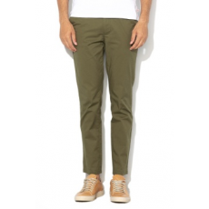 Selected Homme , Yard slim fit chino nadrág, Olívazöld, W33-L34 (16062977-OLIVE-NIGHT-W33-L34)