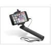 Selfie Selfie Holder szelfi bot exponáló gombbal, 3,5 mm jack csatlakozóval - fekete