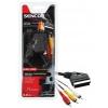 Sencor SAV 163-015 (SCART - 3x cinch kábel)