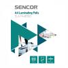 Sencor SLA FA4B150 A4-es lamináló fólia, 2x75 micron, 100 fólia / doboz