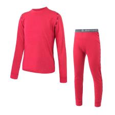 Sensor Merino Air Szett póló+alsó Gyerek 130 / rózsaszín gyerek póló