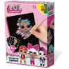 SES L.O.L Surprise képkarcoló készlet - SES kreatív játékok