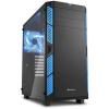Sharkoon AI7000 Glass - Fekete-kék