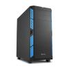 Sharkoon AI7000 Silent fekete-kék (4044951020843)