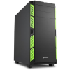 Sharkoon AI7000 Silent - Fekete-zöld
