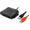 Sharkoon DriveLink 2.5/3.5' IDE/SATA USB2.0 adapter szet