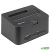 Sharkoon QuickPort Combo USB3.0 - HDD Dokkoló /4044951011797/