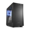 Sharkoon S1000 Mini- ITX Ablakos Fekete (4044951013944)