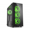Sharkoon TG5 Glass Green Atx Tower (4044951020577)