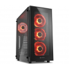 Sharkoon TG5 Glass Red Atx Tower (4044951020560)