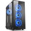 Sharkoon TG5 RGB táp nélküli ATX számítógépház