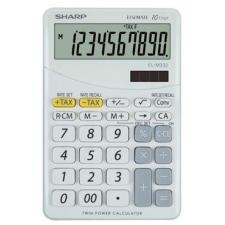Sharp EL-M332BWH Számológép, asztali, 10 számjegy számológép