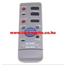 SHARP gyári távirányító RRMCG1271AJSA RRMCG1271AJSA távirányító távirányító