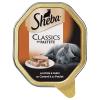 Sheba 22x85g Sheba tálcás nedves macskatáp megapackban - Classics pástétomban kacsa & csirke