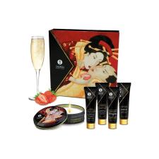 Shunga Geishas Secret Kit Strawber. masszázsolaj és gél