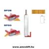 Siat Sztreccsfólia felhordó, kézi, műanyag, 50 mm cséve átmérőjű, 508 mm széles fóliához, SIAT SP50 (3103)