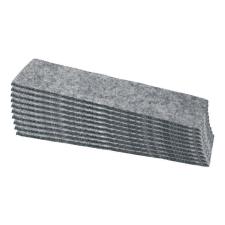 SIGEL Filc táblatörlő, utántöltő, 14,5x4,5x4 cm, SIGEL ajándéktárgy