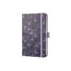 """SIGEL Jegyzetfüzet, exkluzív, 95x150x16 mm, vonalas, 174 oldal, SIGEL """"Jolie"""", Mystic Butterflies"""