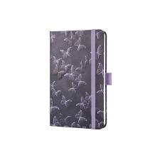 """SIGEL Jegyzetfüzet, exkluzív, 95x150x16 mm, vonalas, 174 oldal, SIGEL """"Jolie"""", Mystic Butterflies füzet"""